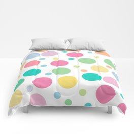 bulles de couleur Comforters