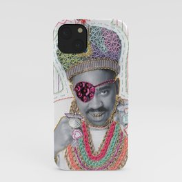 Embroidered Slick Rick iPhone Case