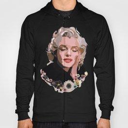 Marilyn Monroe with Flowers Hoody
