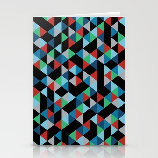 Triangles 4B Stationery Cards