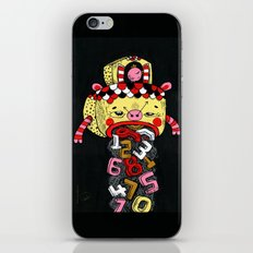 How much Time do we have left (CLOCK) iPhone & iPod Skin