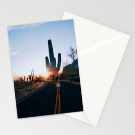 Disappear Into The Sunset Stationery Cards