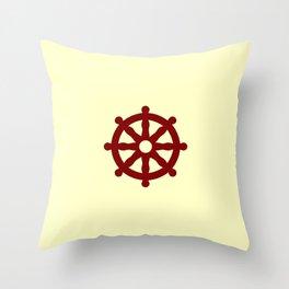 Dharmachakra 4 Throw Pillow