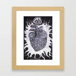 The Awakening of the Soul. Framed Art Print