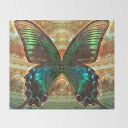 Interdimensional Chrysalis Throw Blanket