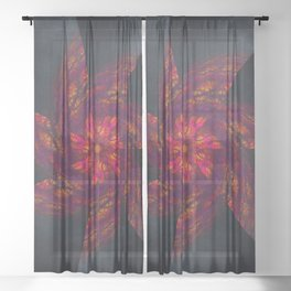Mandala Like a Wind Sheer Curtain