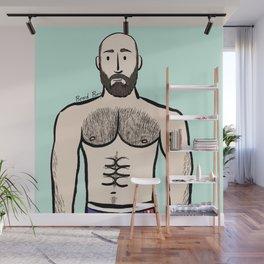 Beard Boy: Antoine Wall Mural