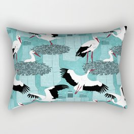 Storks Rectangular Pillow