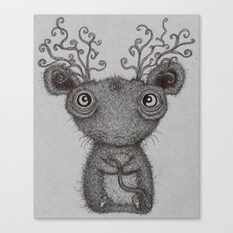 Lonesome Little Rodent God Canvas Print