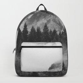 Vancouver Fog B&W Backpack