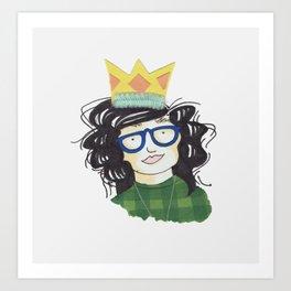 YAAS Queen Art Print