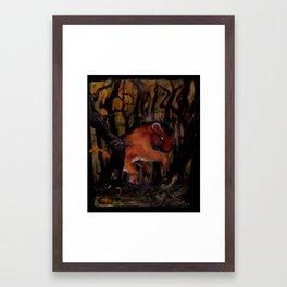 the Manticore Framed Art Print