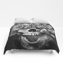 SKULL & ROSES I Comforters