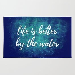 Life Is Better By The Wate Rug