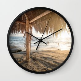 Punta Cana Beach Wall Clock