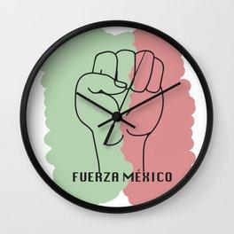 Fuerza Mexico Wall Clock