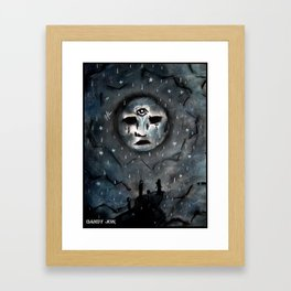 Sad Dream World Framed Art Print