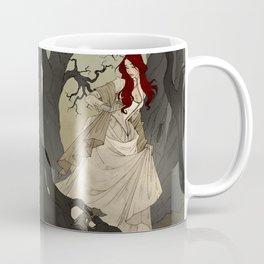 Through the Black Wood Coffee Mug