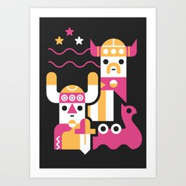 Ode to the North Art Print