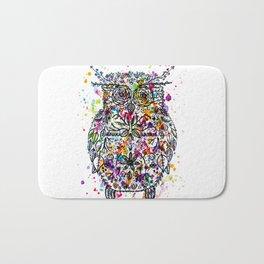 Owl Be Cool Bath Mat