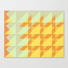 Canary Geometry  Canvas Print