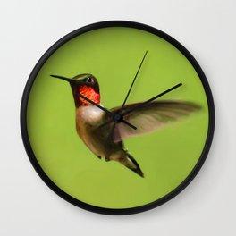 Hummingbird X Wall Clock