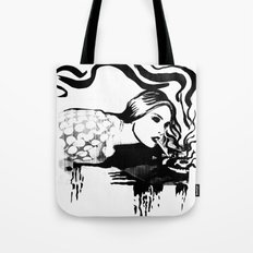 Cigarette Tote Bag