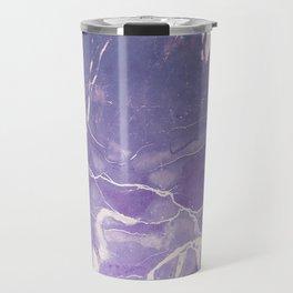 Ultraviolet Marble Travel Mug