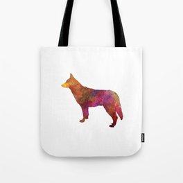 Saarloos Wolfdog in watercolor Tote Bag