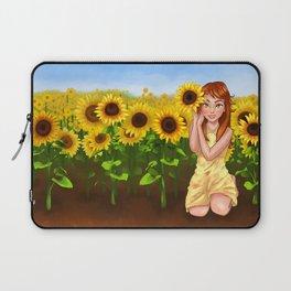Sunflower Garden Laptop Sleeve