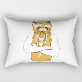 Bear - Panda - You're a Beast Rectangular Pillow