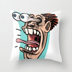 Double Take Right Throw Pillow