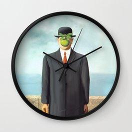 The Apple man Wall Clock