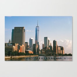View from Hudson River Park Canvas Print