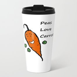 Peas Love Carrot Travel Mug