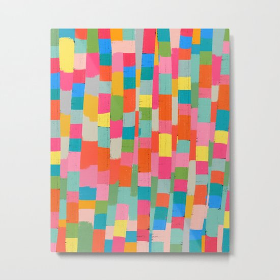 colorful patchwork 2 Metal Print