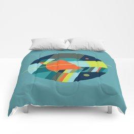 Binaries on Blue Comforters
