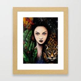 Fierce Beauty Framed Art Print