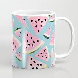 Watermelon Twist Vibes #5 #tropical #fruit #decor #art #society6 Coffee Mug