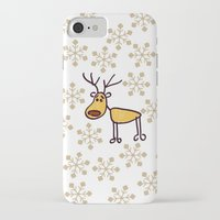 reindeer iPhone & iPod Cases featuring Reindeer by Mr and Mrs Quirynen