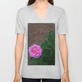 Floral Print 092 Unisex V-Neck