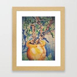 Jardins Marjorelles Framed Art Print