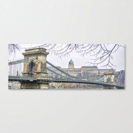 Chain Bridge. Canvas Print