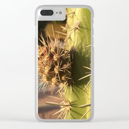 Right to the point Clear iPhone Case