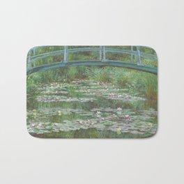 Claude Monet The Japanese Footbridge 1899 Painting Bath Mat