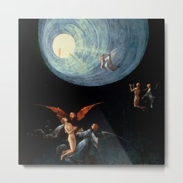 "Hieronymus Bosch ""Visions from the Hereafter - Ascend of the Blessed"" Metal Print"
