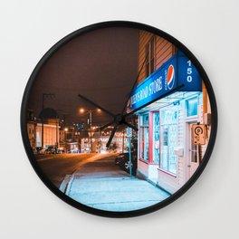 Queens Road Wall Clock