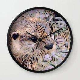 ArtAnimal Otter Wall Clock