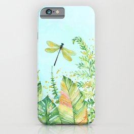 My Happy Place Garden iPhone Case