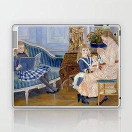 """Auguste Renoir """"L'après-midi des enfants à Wargemont (The childrens' afternoon at W.) Laptop & iPad Skin"""